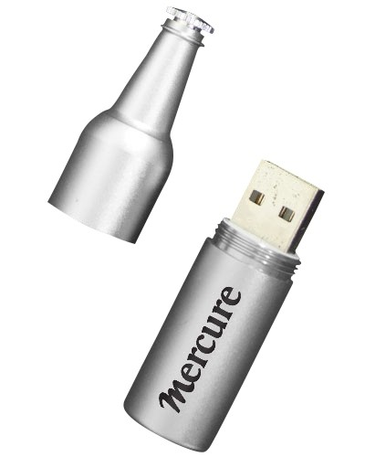 USB Wine Bottle Metal
