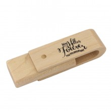 USB Full Wood Swivel
