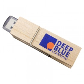 Wooden USB Peg Drive