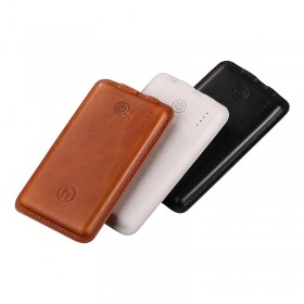 Leather Power Bank 2