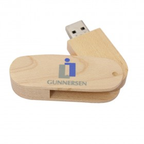 USB Wood Swivel